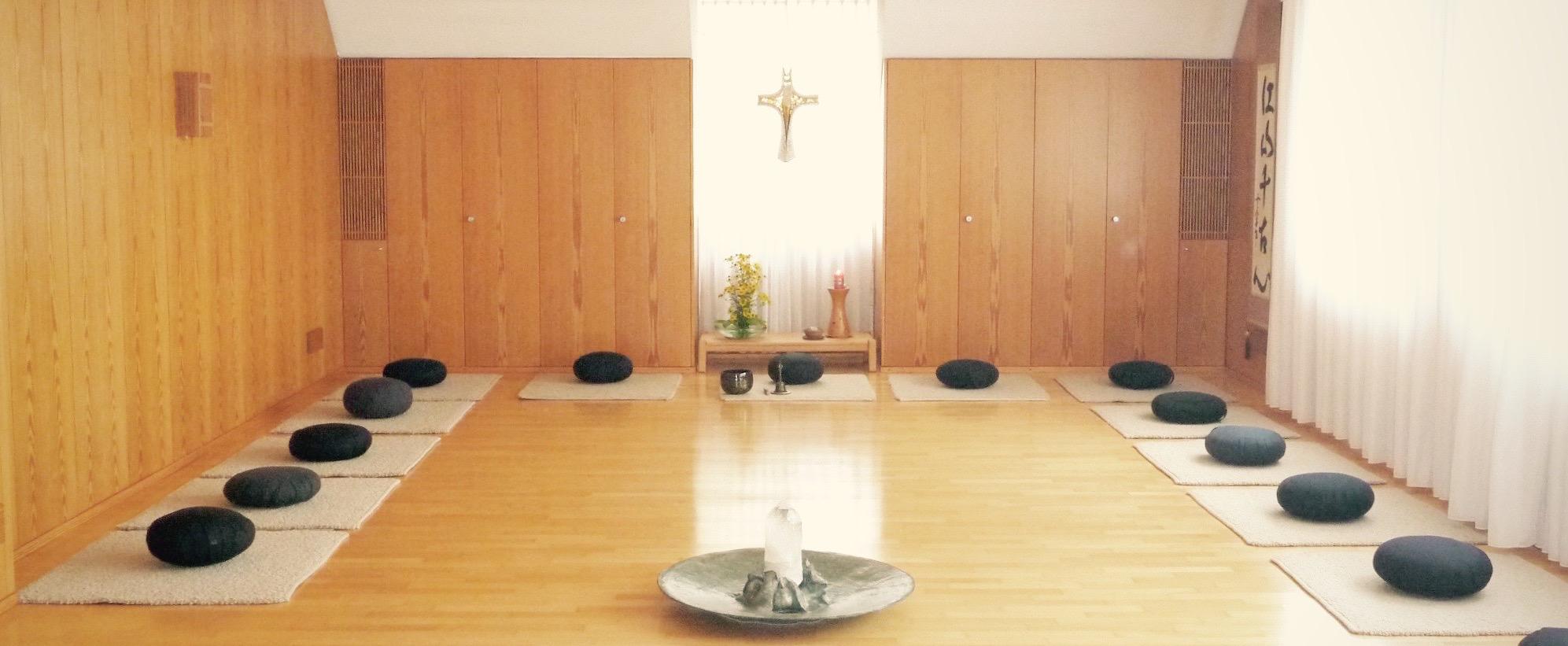 Meditationsraum Zentrum der Stille