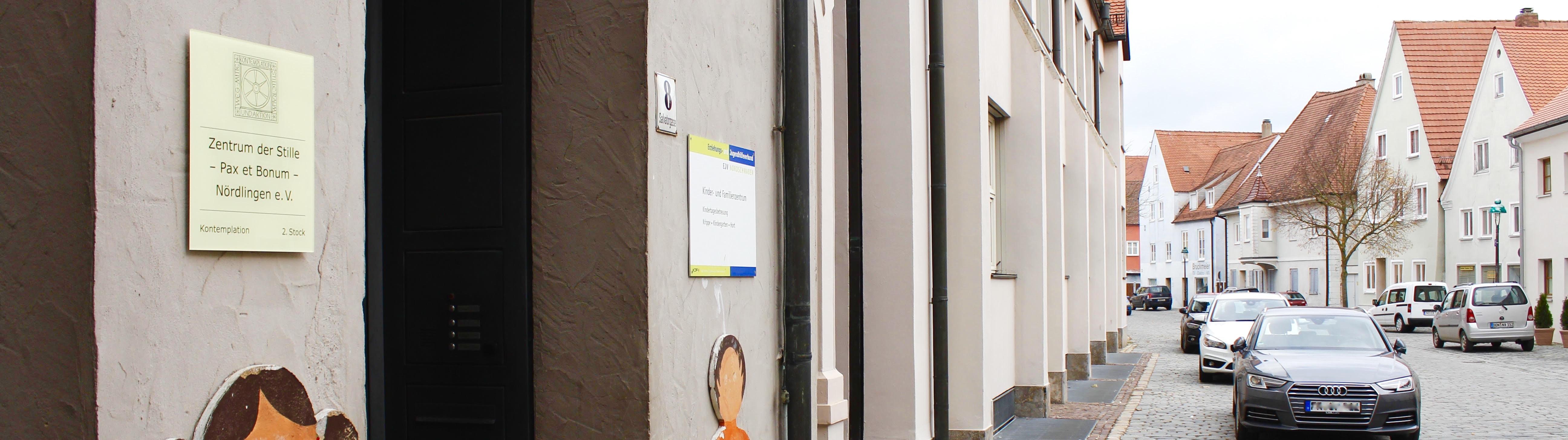 Kontakt - Zentrum der Stille - Anschrift in Nördlingen - Gebäude